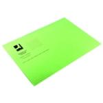 Q-Connect Sq Cut Folder 180g Green Pk100