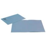Q-Connect Sq Cut Folder 180g Blue Pk100