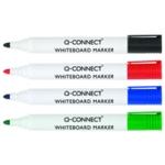 Q-Connect Astd Drywipe Marker Wallet Pk4
