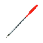 Q-Connect Ballpoint Pen Med Red Pk50
