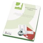 Q-Connect Multipurpose Labels Pk100