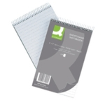 Q-Connect Shorthand Notebook 150Lf Pk10