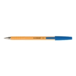 Q-Connect Ball Point Pen Fine Blue Pk20