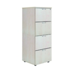 FF Jemini Maple 4 Drw Filing Cabinet