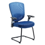 FF LEXI ARISTA MESH VISITORS CHAIR BLUE