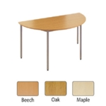 FF Jemini Semi-Circular Table 1600mm Bch