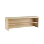 FF Serrion 1200 Desk Riser Maple