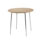 FF Arista Bch Chrome Round Bistro Table