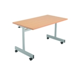 FF Jemini 1200mm Flip Top Table Maple