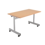 FF Jemini 1600mm Flip Top Table Maple