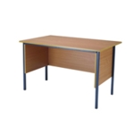 FF Serrion Beech 1200mm 4 Legged Desk