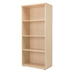 FF Jemini 1800mm Bookcase 4Shelf Maple