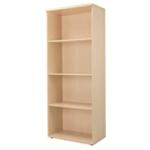 FF Jemini 2000mm Bookcase 4Shelf Maple