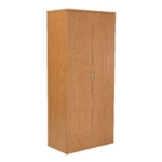 FF Jemini 1800mm Cupboard 4Shelf Oak