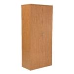 FF Jemini 2000mm Cupboard 4Shelf Oak