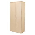 FF Jemini 1800mm Cupboard 4Shelf Maple
