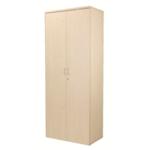 FF Jemini 2000mm Cupboard 4Shelf Maple