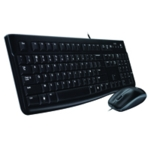 Logitech MK120 Wired Keyboard/Mouse Set