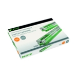 Leitz H/Duty 10mm Green Staple Cart Pk5