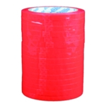 Flexocare Red Vinyl Tape 9mm X66m Pk16