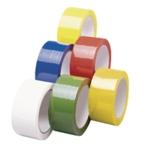 Yellow Poly Tape 50mmx66m Pk6