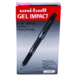 Uni-Ball Gel Impact Pen Red Pk12