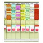 Nobo 7 T-Card Panel Planning Kit 29110