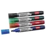 Nobo Liquid Ink Drywipe Marker Asstd Pk6
