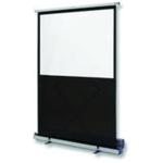 Nobo Grey Floor Standing Portable Screen