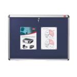 Nobo Lockable Blue 1060x1350mm Board