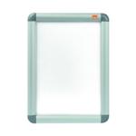 Nobo Silver Aluminium A4 Clip Frame
