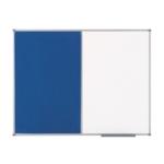Nobo Combo Board 900x600mm Blue