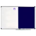 Nobo Combo Board 1200x900mm Blue