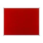 Nobo Felt Noticeboard 900x600mm Red
