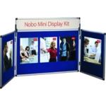 Nobo Mini Desktop Display Kit Blue