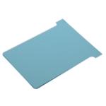 Nobo T-Card Size 2 Lt.Blu Pk100