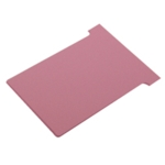 Nobo T-Card Size 4 Pink Pk100