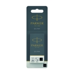 Parker Black Quink Perm Ink Cart x5 Pk12