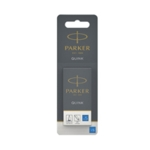 Parker Blue Quink Perm Ink Cart x5 Pk12