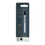 Parker Black Rollerball Pen Refill Pk12