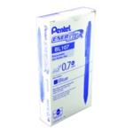 Pentel EnerGel X Pen Med Blue Pk12