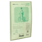 Pentel Green/Clear A4 Display Book 20Pkt
