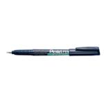 Pentel Super Fine Marker Black Pk12
