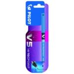 Pilot V5 Hi-Tecpoint Rollerball Blue Pen