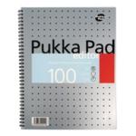 Pukka Metallic Editor Notepad A4 Pk3
