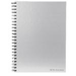 Pukka Silver Wirebound Notebook A4 Pk5