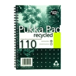 Pukka Recycled Wire Notebook A5 Pk3