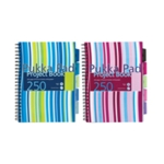 Pukka PP Project Book A4 Blue Pink Pk3