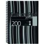 Pukka Stripes Jotta Notebook A5 Blk Pk3