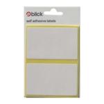 Blick 50x80mm White Label Bag